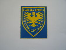 autocollant club des sports serre-chevalier