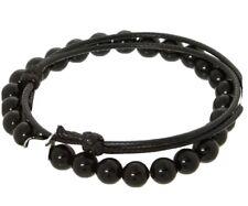 Beaded Bracelet - Rrp £99.00 New & Genuine - Tateossian Black