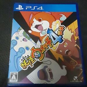 PS4 Yo-kai Yokai Watch 4++ Level 5 Sony Playstation 4 Japan Import