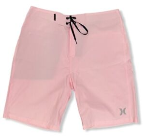 """Hurley Men's Phantom One and Only 20"""" Boardshorts - Pink"""