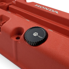 Oil Cap For Engine Valve Cover - Fits Honda And Acura - Red Color