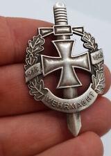 WW2 GERMAN WEHRMACHT IRON CROSS PIN BADGE MEDAL AWARD REICH ARMY VETERAN VET SS
