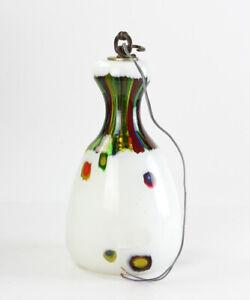 Mid Century Modern Anzolo Fuga Murano Hand Blown Glass Hanging Pendant Lamp 1956