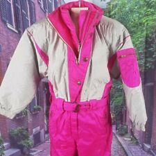 OSSI Vintage One-Piece Ski Suit, Medium