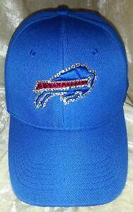 Buffalo Bills Women's Ladies Rhinestone Cap Hat ~NEW~