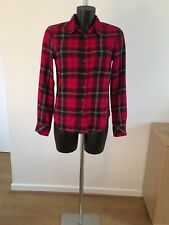 Women's Long Sleeved Check Shirt Size 10 H.M