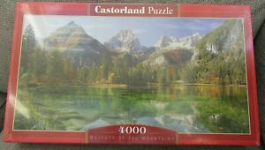 Castorland Puzzle - Majesty of the Mountains 4000 Piece Jigsaw - Brand New