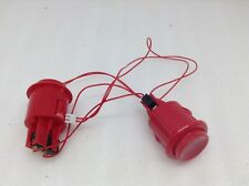 Lot of 2 Arcade 1up parts Red Buttons