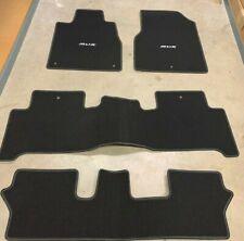 2010 - 2013 ACURA MDX OEM CARPET MATS SET (BLACK) 83600-STX-A12ZD