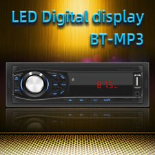 Universal Car MP3 Player Bluetooth Stereo Audio FM Aux Input Radio Receiver USB