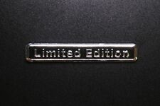 Limited Edition Emblem Aufkleber Auto Sticker Tuning in silber schwarz Metall