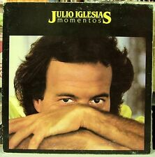 JULIO IGLESIAS-MOMENTOS LP VINILO  DOUBLE COVER 1982 SPAIN