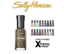 10 Sally Hansen Hard as Nails Xtreme Wear 10 Nail Polish's All Different Color