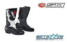 STIVALI MOTO STRADA RACING SIDI FUSION BIANCO - NERO TG. 45