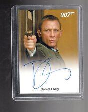 James Bond  Daniel Craig auto card