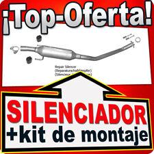 Silenciador intermedio TOYOTA COROLLA 1.4 1.6 2001-2004 también VERSO Escape AME