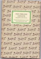 Insel-Verlag Nr.394-Paul Verlaine-GEDICHTE-Ausgewählt v. K.Krolow-Wiesbaden 1957