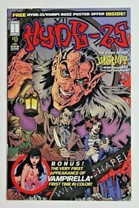 Hyde-25 #0 First Appearance of Vampirella in Color in Comics Harris NM/VF RARE.