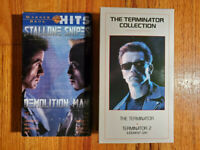 (Lot2) Demolition Man 93 The Terminator Collection 95 VHS RARE HTF OOP Action