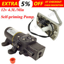 12v Galley Electric Water Pump Tap Faucet Kit Caravan Boat Express &