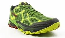 New Montrail Mens Trans Alps Green Running Shoes Size 9.5