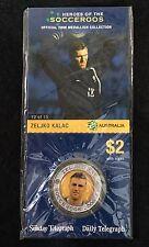 2006 Soceroos Official Medallion Collection  Zeljko Kalac 12/15 Sunday Telegraph