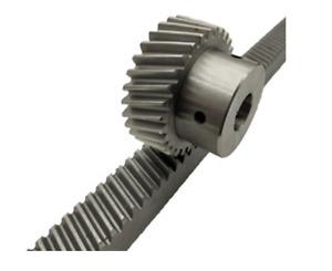 Multiple Helical Rack & 24 Teeth Pinion Mod 1.5 5'x10' CNC XY Router Plasma KIT