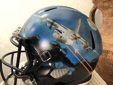 RIDDELL SPEED AIR FORCE AIR POWER LEGACY AC-130! FOOTBALL HELMET LARGE!