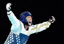 Jade JONES Autograph Signed Photo AFTAL COA Taekwondo Olympics Gold Medal Winner