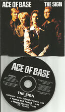 ACE OF BASE The Sign 4TRX RARE MIXES & HAPPY NATION 12 INCH CD Single USA seller