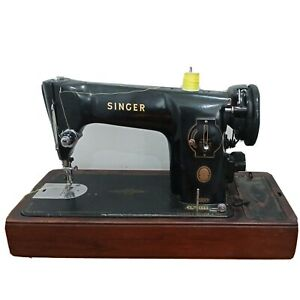 Antique Singer Sewing Machine 1954 model 201k Antique collectable working**