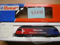 Roco HO  Artikel 43878    E Lok BR 460 der  SBB    - AC Wechselstrom - Neuware