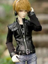 [wamami] en cuir noir veste manteau SD17 dz aod dod bjd dollfie