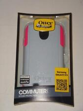 New Samsung Galaxy S4 Otter Box Commuter Series Gray Pink -031514