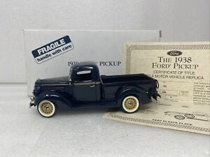 1/24 Danbury Mint 1938 Ford 81C-830 Half Ton Pickup Washington Blue