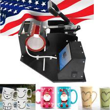 Heat Press Transfer Sublimation Machine Dual Digital for 8.3cm Cup Coffee Mug