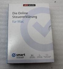 Lexware Die Online Steuererklärung für Mac smart steuer 2016 NEU