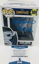 Keith David Signed Goliath Stone Chase Funko Pop 389 Gargoyles Bas H32673