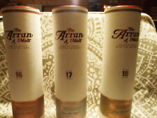Arran Trilogy Complete set 16, 17 and 18 year's old