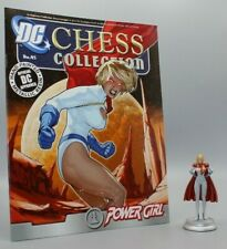 EAGLEMOSS Figure/Magazine DC Collection Chess #45 POWER GIRL Figurine  (JSA/JLA)