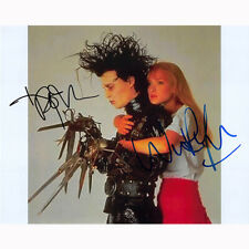 Johnny Depp & Winona Ryder - Edward (63655) - Autographed In Person 8x10 w/ COA