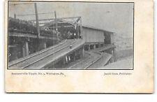 Pennsylvania-Winburne-Sommerville Tipple No 9-Coal Mine-Antique Postcard