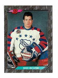 1992-93 BOWMAN GOLD FOIL #238 MIKE RICHTER !! C50