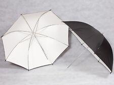 2x Reflexschirme Weiß 90cm mit Tasche