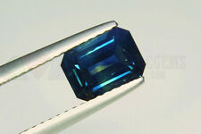 Blue Sapphire Octagon 7.5x5.5mm VS 1.53ct Loose Natural Gemstone Clean untreated