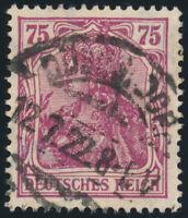 DR 1922, MiNr. 197 b, gestempelt, gepr. Infla-Berlin, Mi. 180,-