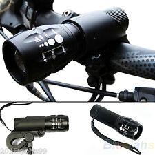 600 lumen CREE Q5 Cycling Bike Bicycle LED Front HEAD LIGHT Torch LARM W Mount