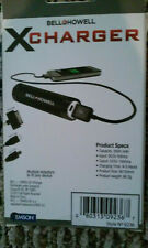 Bell and Howell cell phone charger and a vector 3 in one socket chargers 2 total