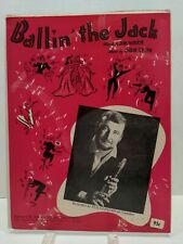 Ballin The Jack Sheet Music Pete Fountain Piano Voice 40s Ragtime Jazz Pop F2F