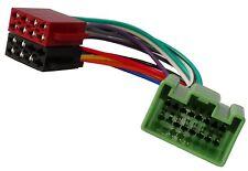 Adaptateur faisceau câble fiche ISO pour autoradio pour Volvo C30 C70 S40 S80